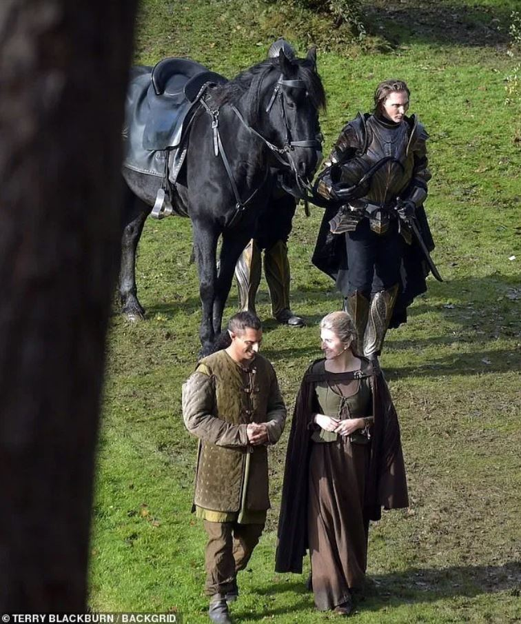 New pictures from The Witcher set Close ups of the Nilfgaardian armor Francesca s dress and dsfg fad zv more