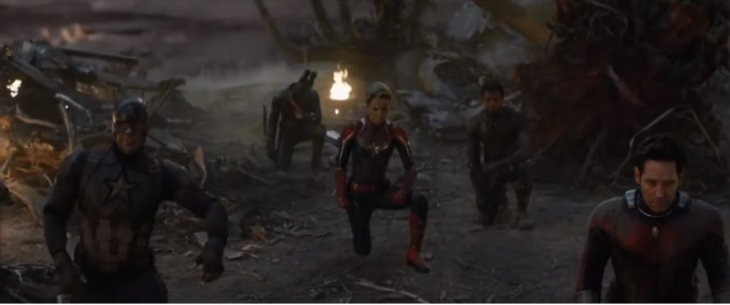 Avengers Endgame and Infinity war Deleted Scenes 9