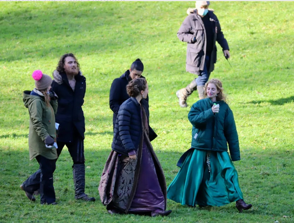 New photos from The Witcher set show Yennefer, Tissaia, Vilgefortz, Stregobor, Cahir, and wr sd more