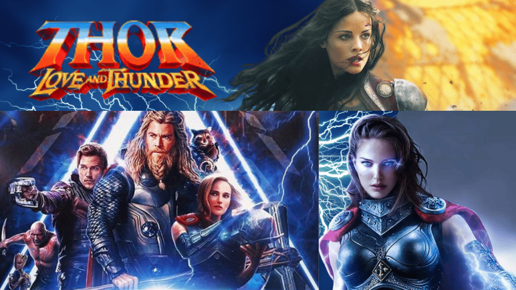 Behind the scene shots straight from the cast and crew of Thor Love and Thunder