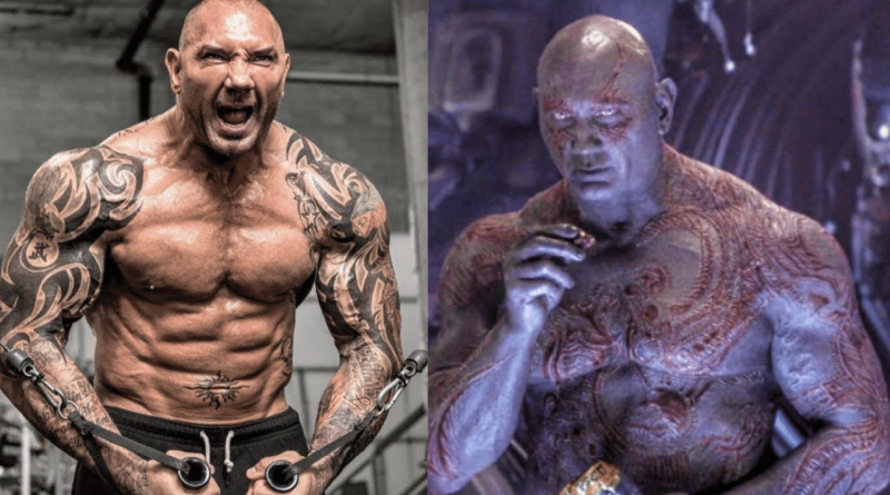Marvel's Dave Bautista AKA Drax says says he's done with WWE
